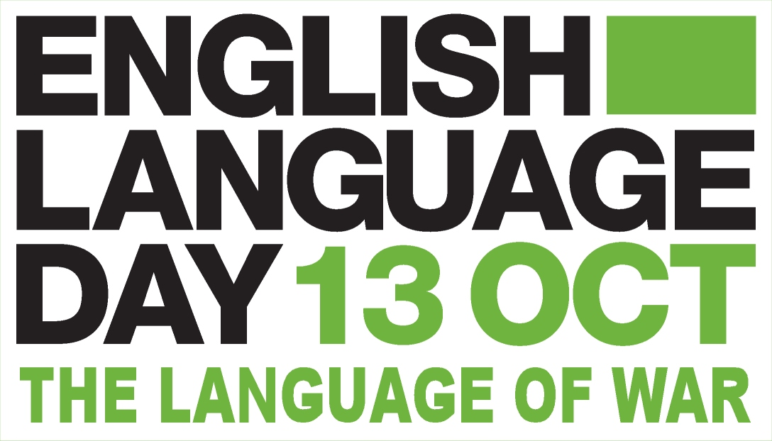 The Language of War -- English Language Day 2014