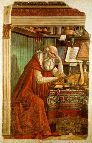 St Jerome and the comma